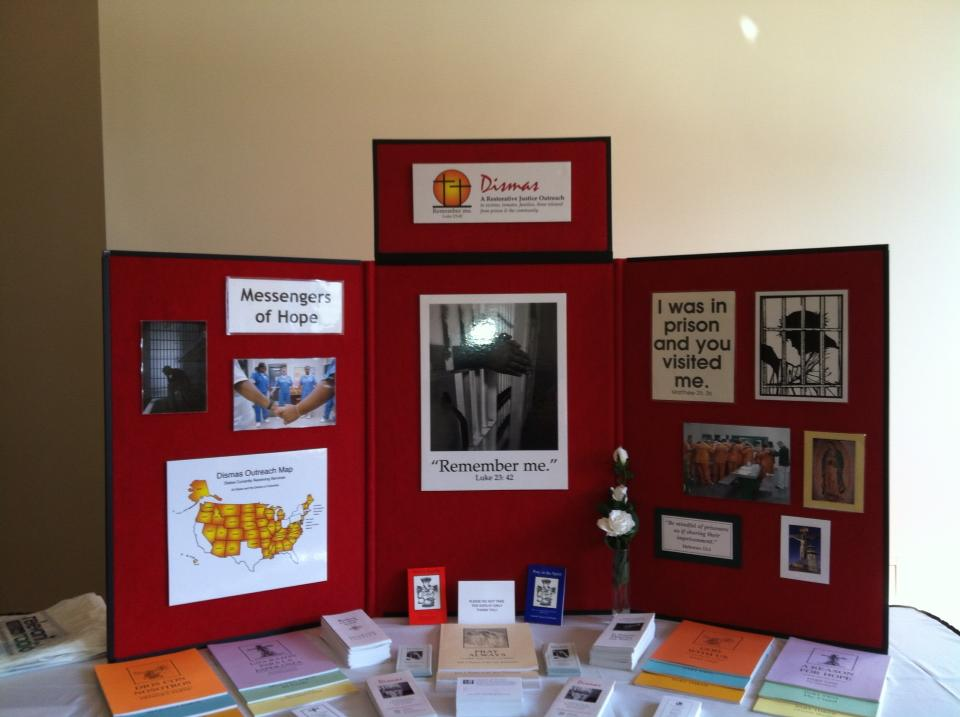dismas ministry information table